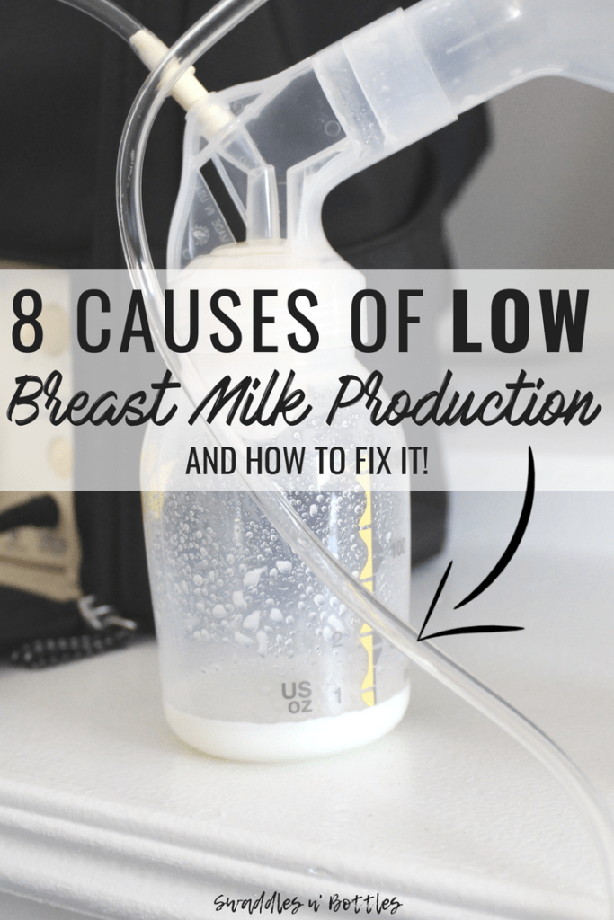 What's Causing Your Low Breast Milk Production?