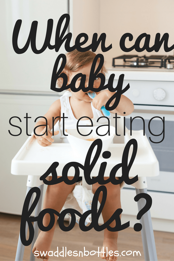 When Can Baby Start Eating Solid Foods? Article from Swaddles n' Bottles