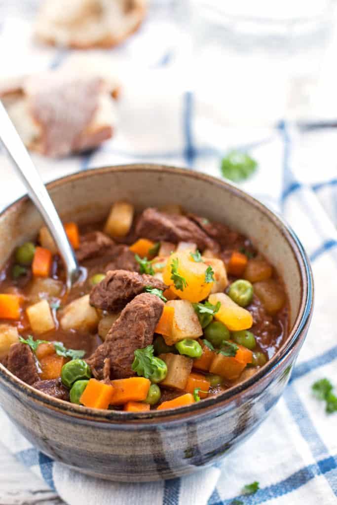 Simple Beef Stew- part of my pre-baby meal prep