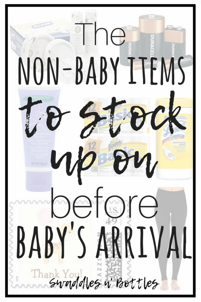 Non-Baby Items To Stock Up On Before Baby Arrives