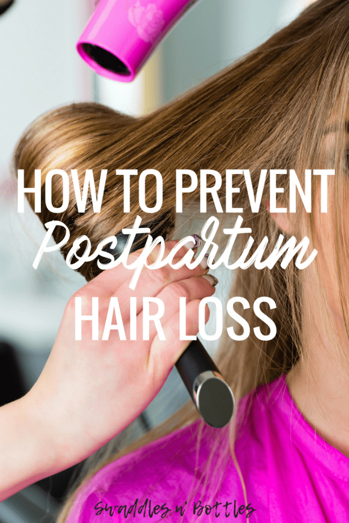 how to prevent postpartum hair loss