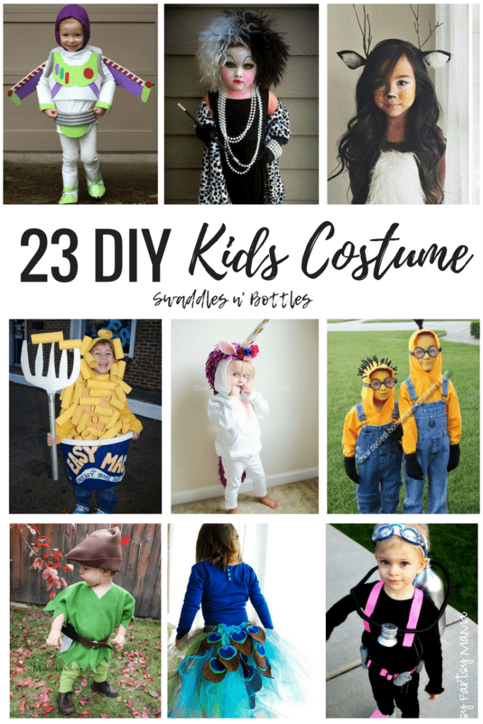 23 DIY Kids Halloween Costumes