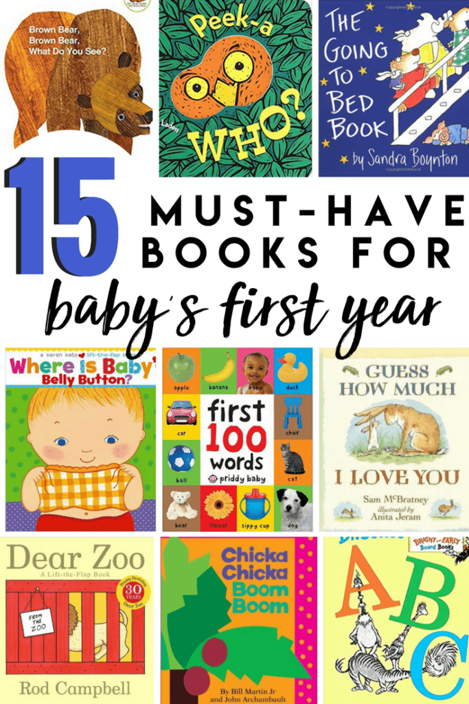 Building Baby's Librabry- must have books for babys first year