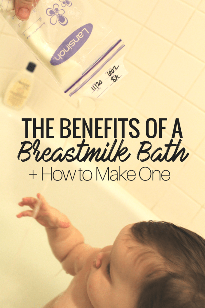 The Benefits of a Breastmilk Bath. Help Soothe common Skin irritations for baby