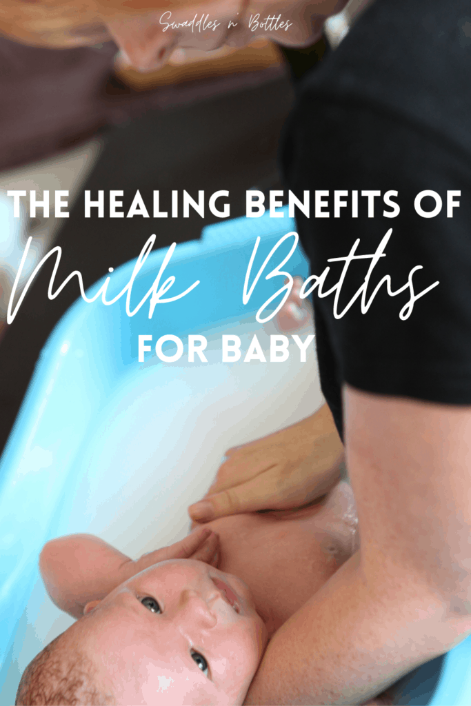 the benefits of a milk bath for baby