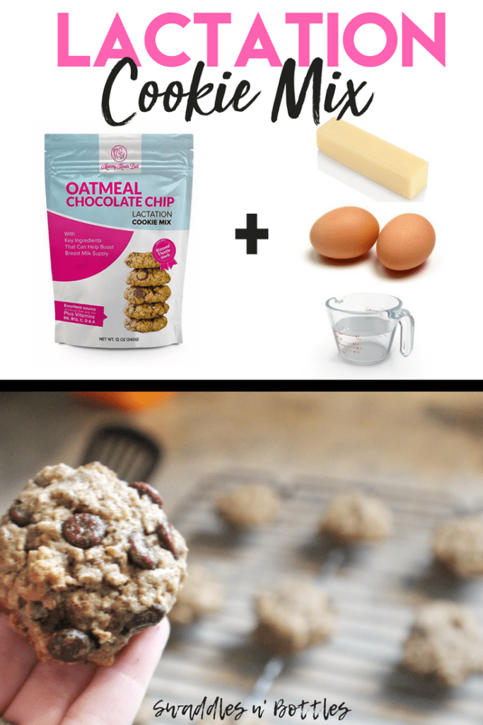 Pre-made Lactation cookie Mix- super quick, easy and tasty way to boost your milk supply!