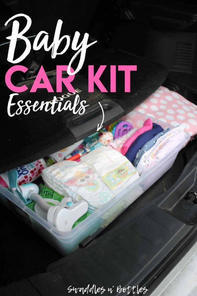 The Prepared Mama: Emergency Car Kit