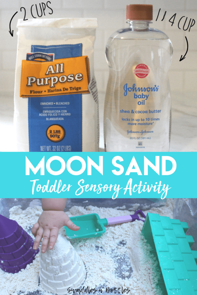 How to Make Moon Sand