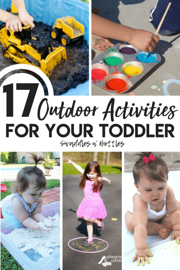 17 Outdoor Activities for your toddler