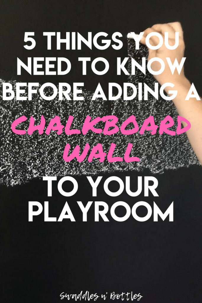 5 things you need to know before adding a chalkboa