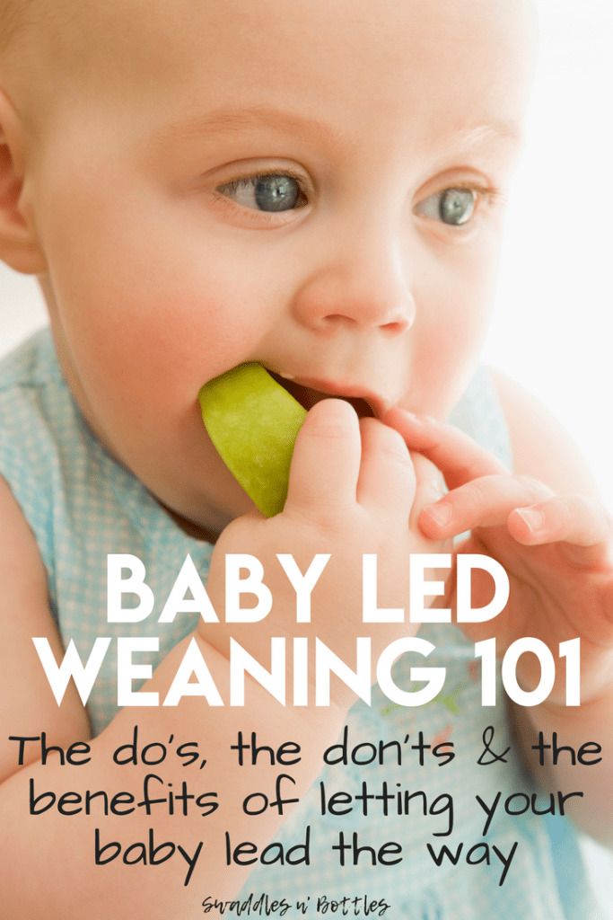 The Do's and Don't of Baby Led Weaning
