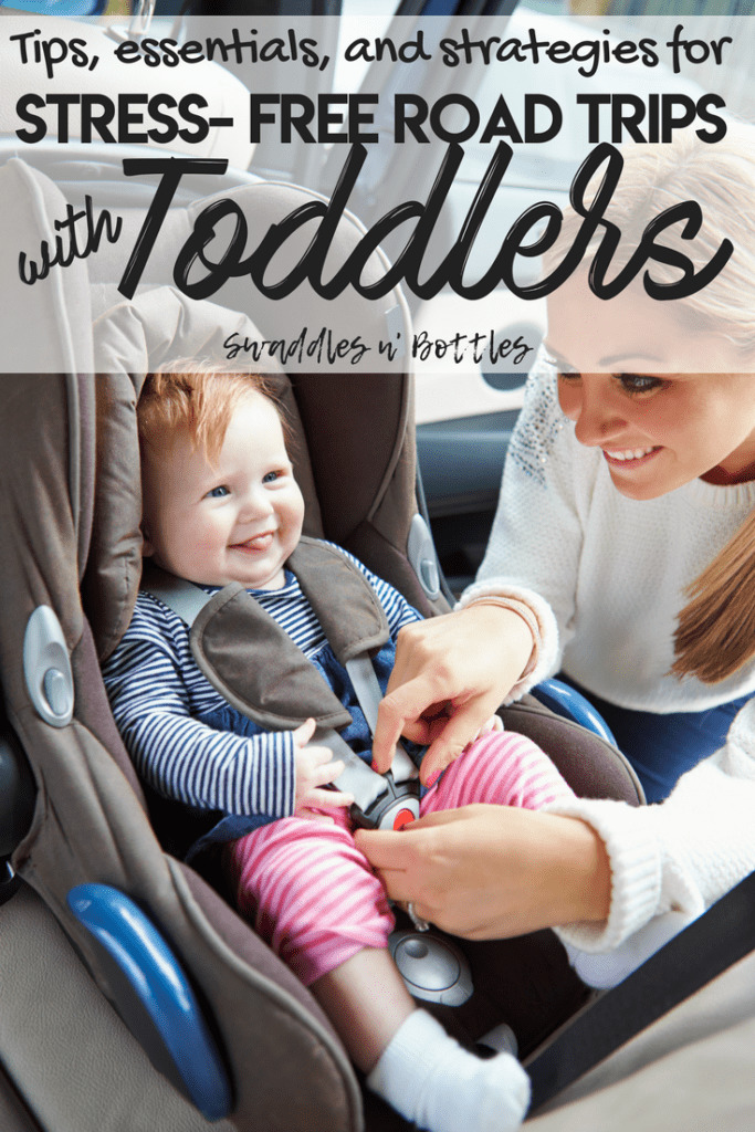Road Trips with Toddler, essentials, strategies and tips for long car rides with little ones