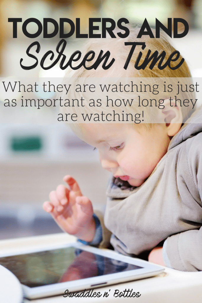 Toddler Screen Time- why I allow my toddler to have screen time