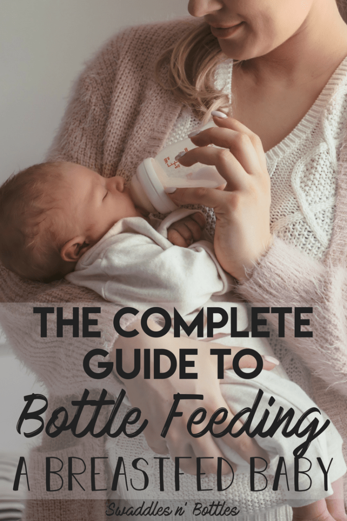 Best practives when bottle feeding a breastfed baby