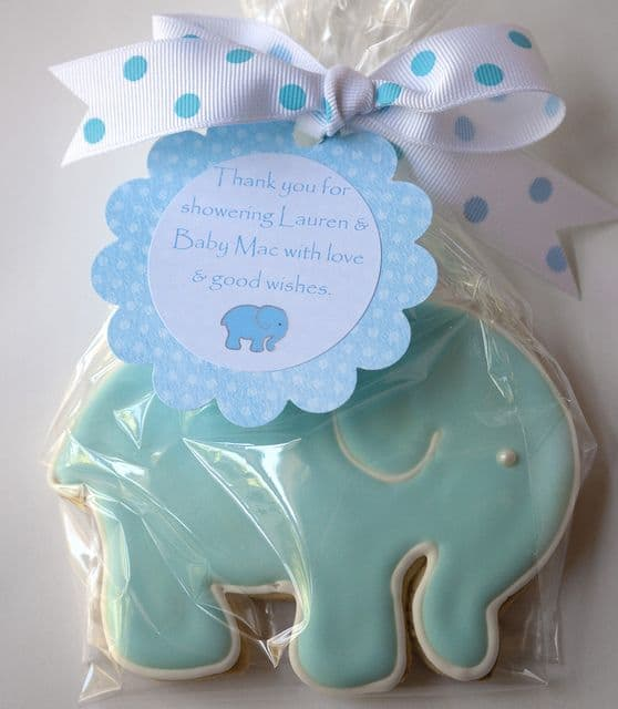 Send your guests home with something sweet! A cute idea for a baby shower thank you gift