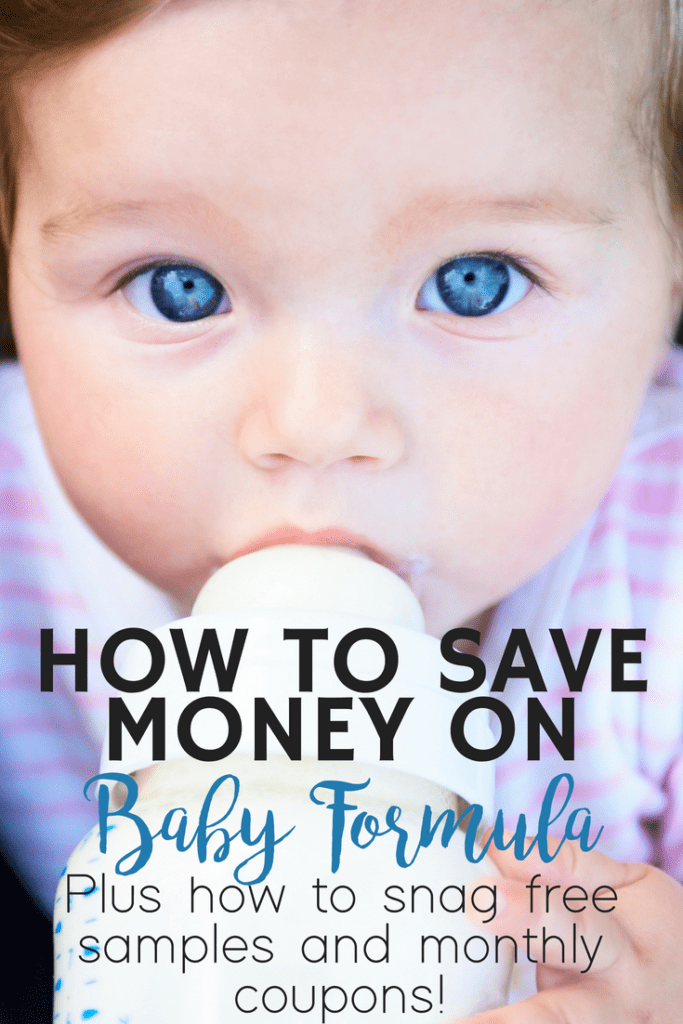 How to save money on baby formula and how to get free samples sent to you!