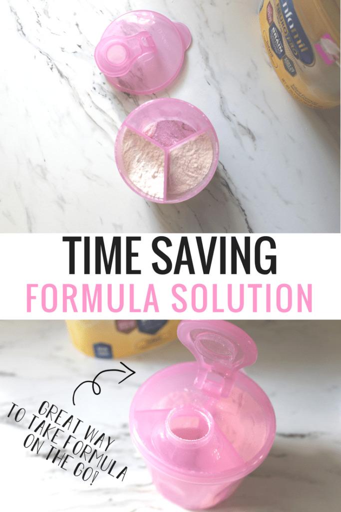 One the go formula solution.