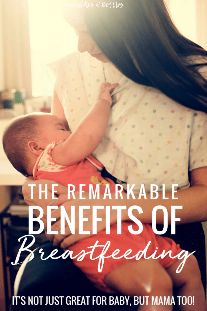 The Benefits of Breastfeeding for Mom and Baby