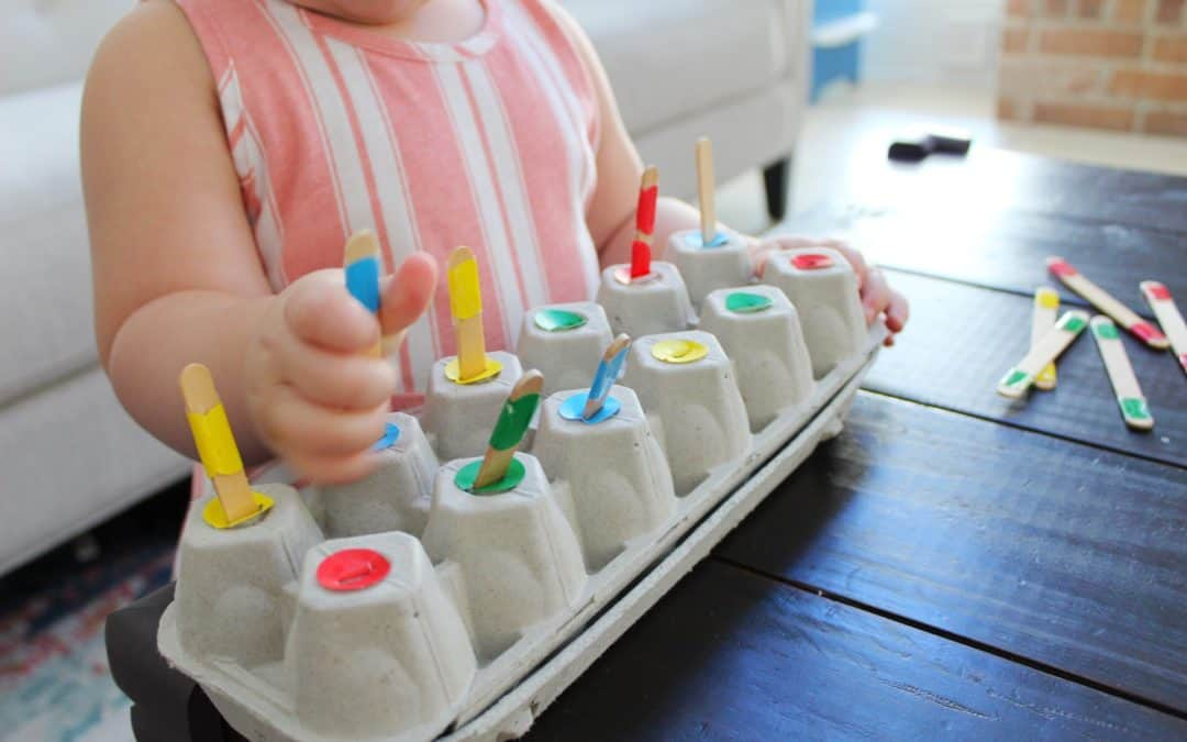 Activities to Help Your Toddler Learn Their Colors!