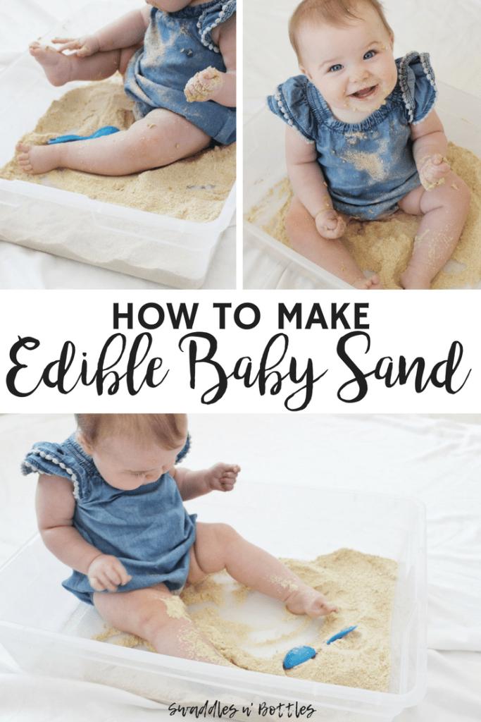 How to make edible baby sand