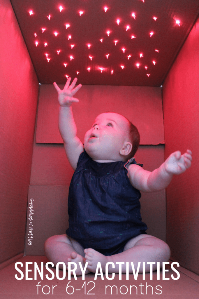 Sensory Activities for 6 to 12 month babies