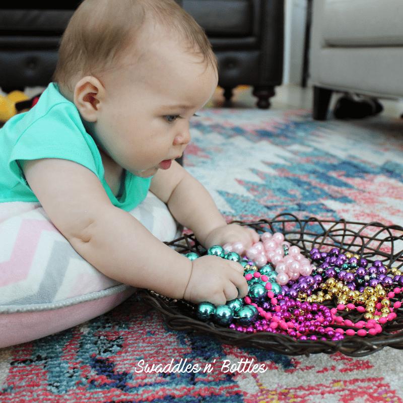 Sensory basket ideas for babies