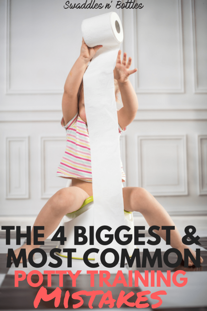 4 biggest and most common potty training mistakes