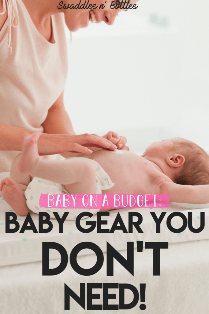Baby Gear you don't need- how to save money when it comes to bay, skip the unnecessary baby registry items!