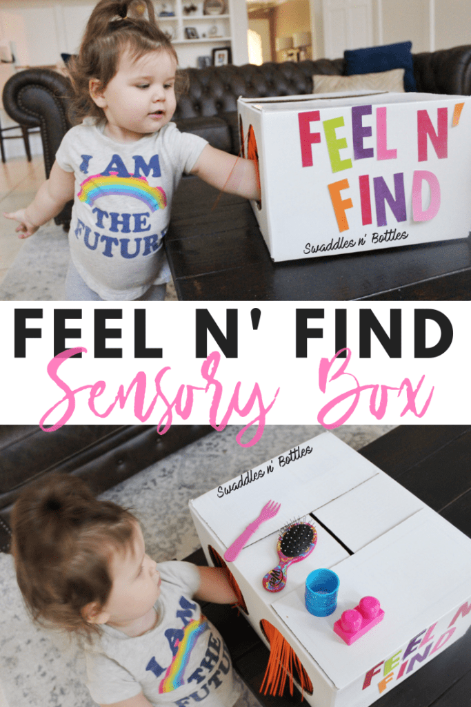 Feel n' Find Sensory Box for Toddlers