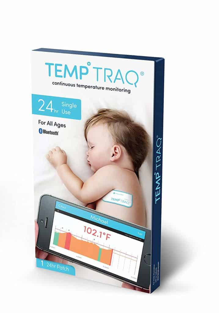 easy way to take baby's temperature