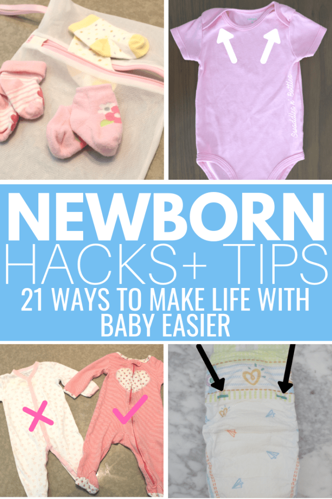 Genius Newborn Hacks That Make Life with Baby Easier