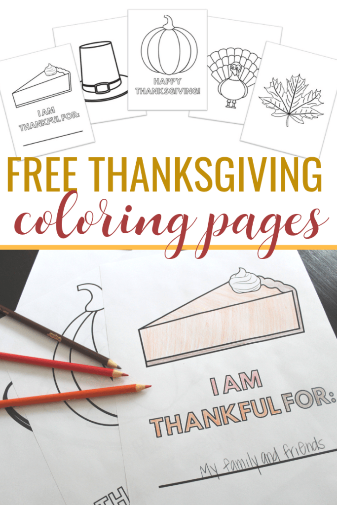 Free Thanksgiving Printables Coloring Pages for toddlers, preschoolers and kids!