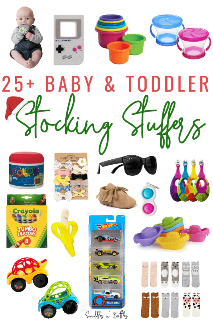 Stocking Stuffer Ideas for Baby's and Toddlers