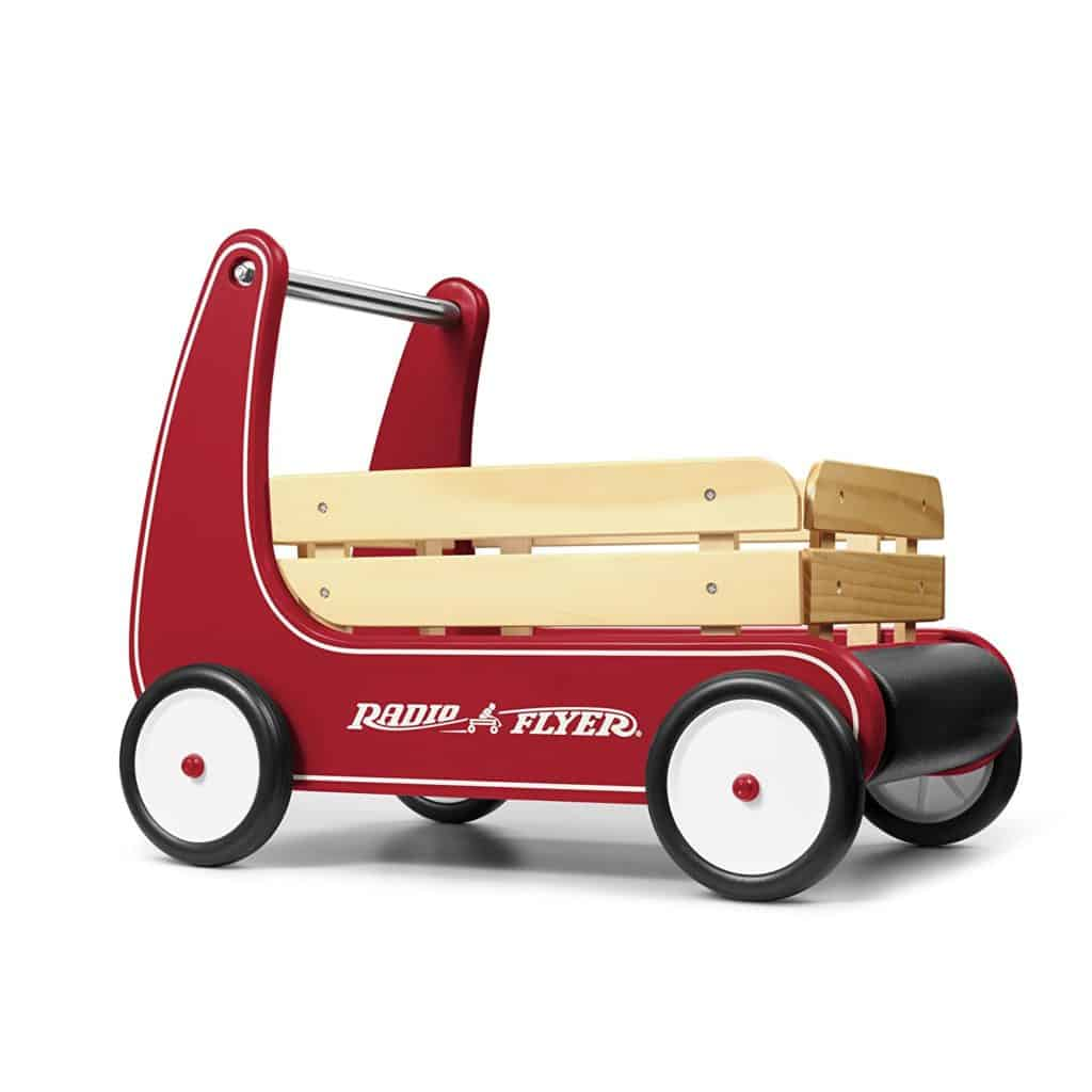 Radio Flyer Wagon Push Toy