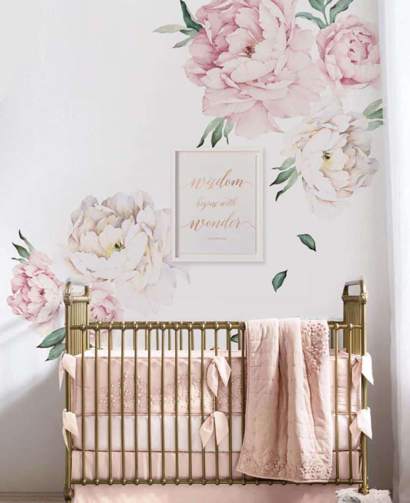 Nursery Inspiration Wallpaper Edition Swaddles N Bottles
