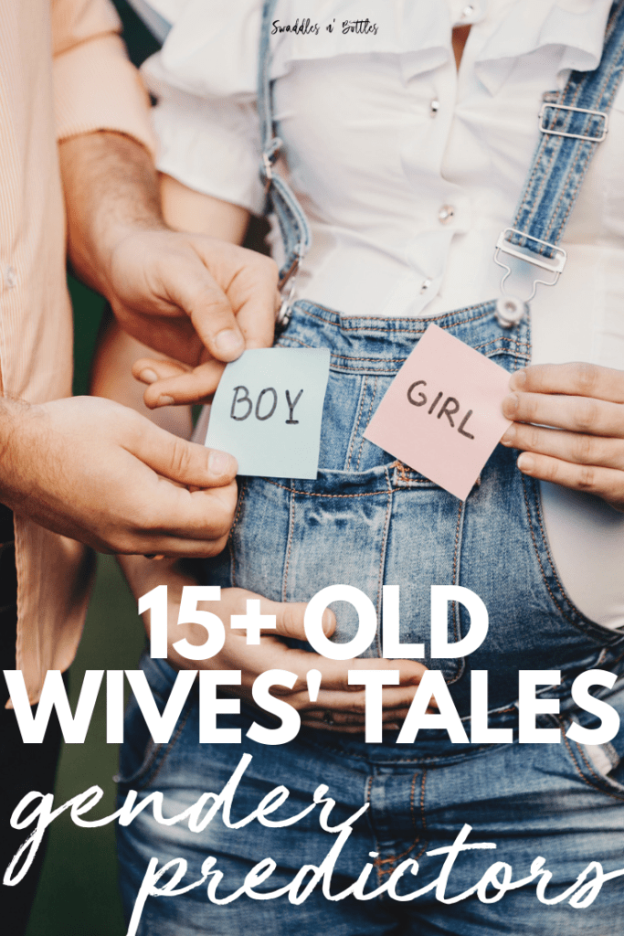 Gender Predictors from Old Wives Tales