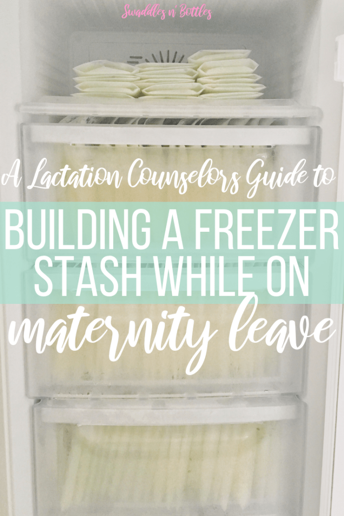 How to Build a Freezer Stash on Maternity Leave (Pumping Schedule Included!)