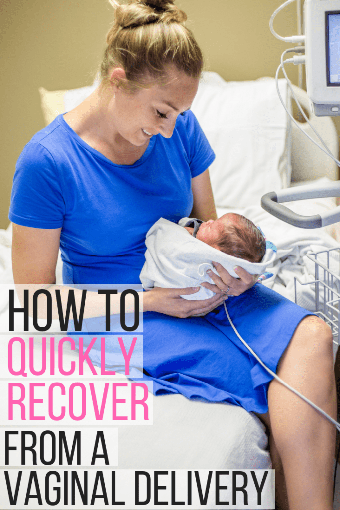 Tips for a fast recovery from vaginal child birth