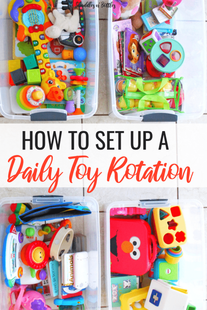 How to Set Up a Daily Toy rotation