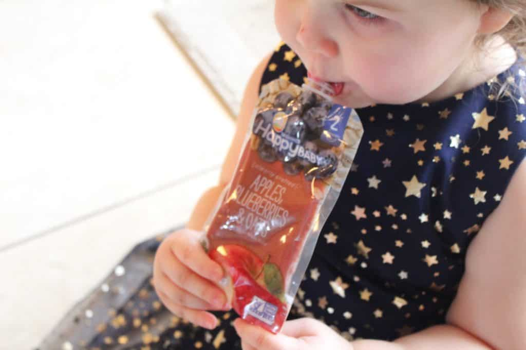 Happy Family Organics Pouches