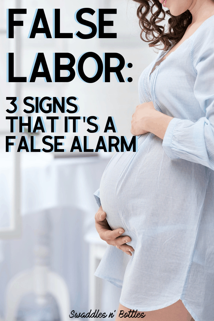 signs of false labor