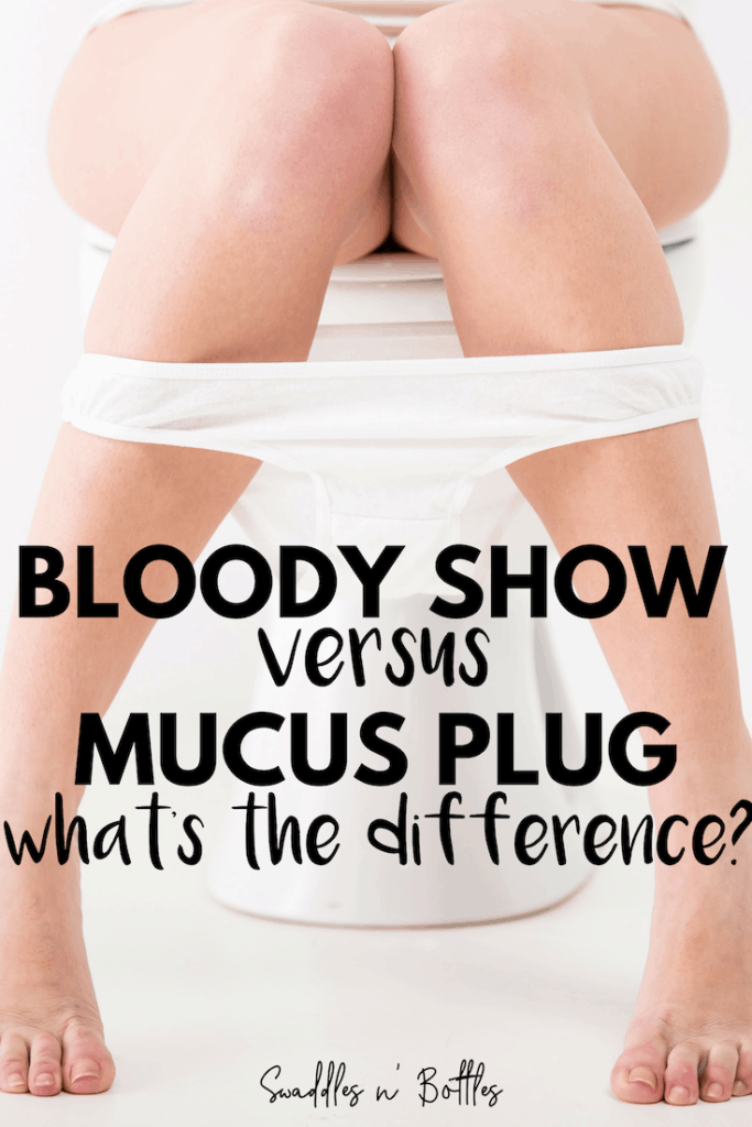 Bloody Show vs. Mucus Plug- What's the difference?