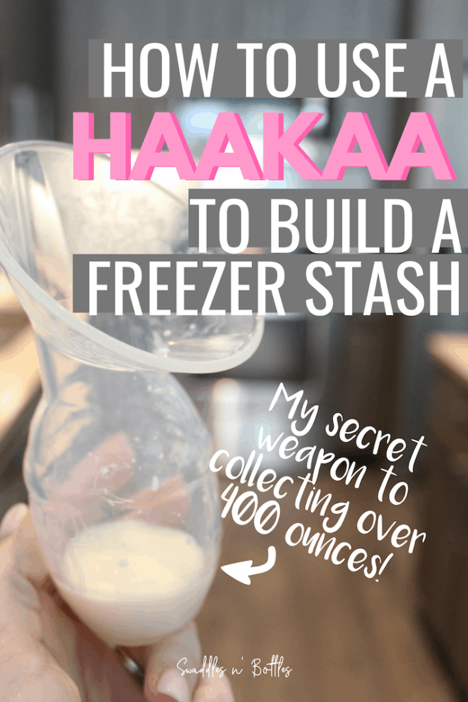 The Haakaa: The Easiest Way to Build A Freezer Stash While on Maternity Leave