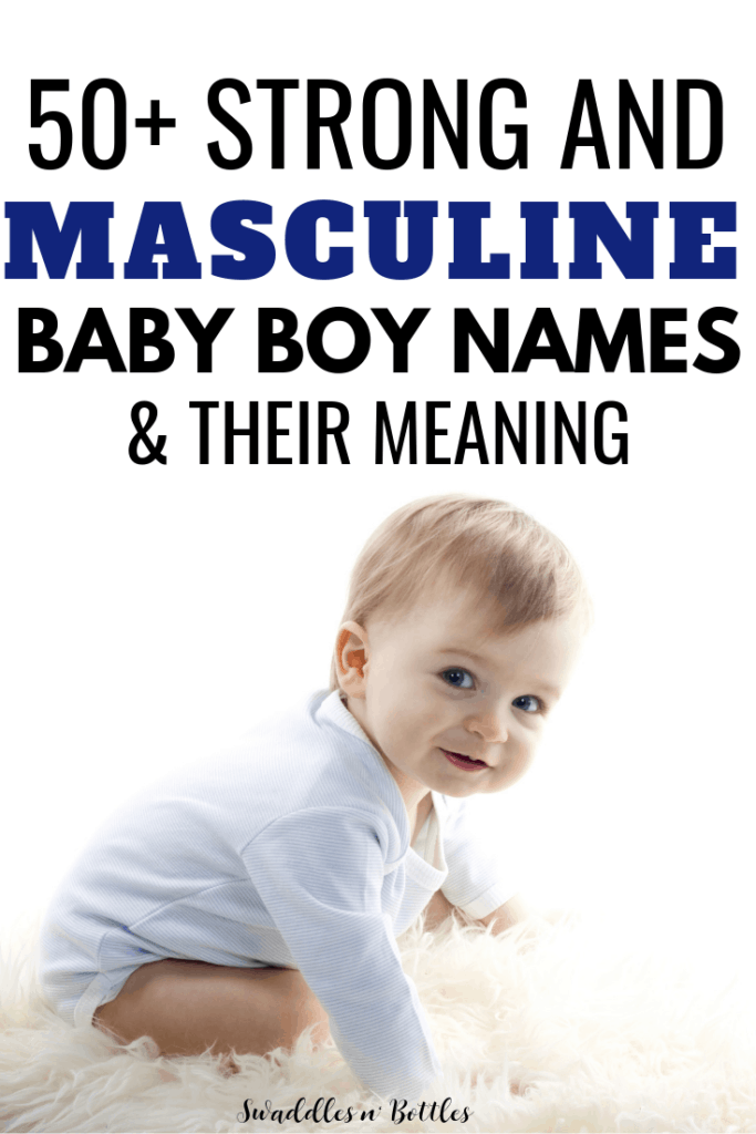 masculine baby boy name ideas