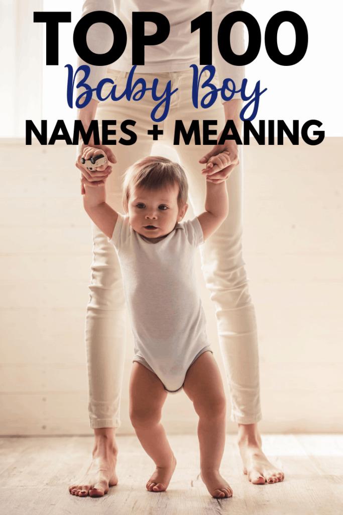 Top 100 Baby Boy Names