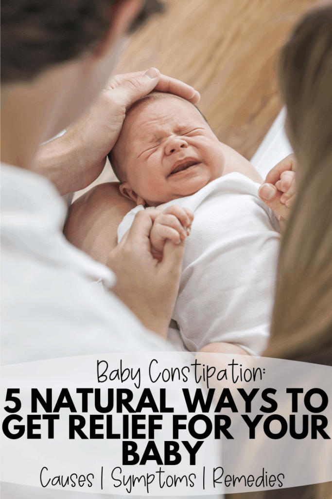 How to Relieve Your Baby's Constipation
