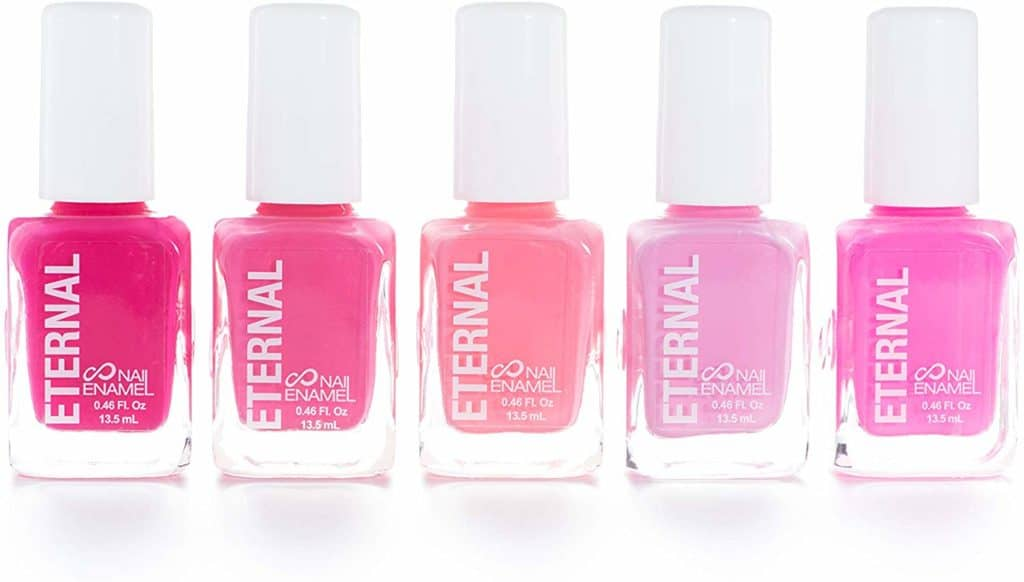 bulk pink nail polish for baby shower