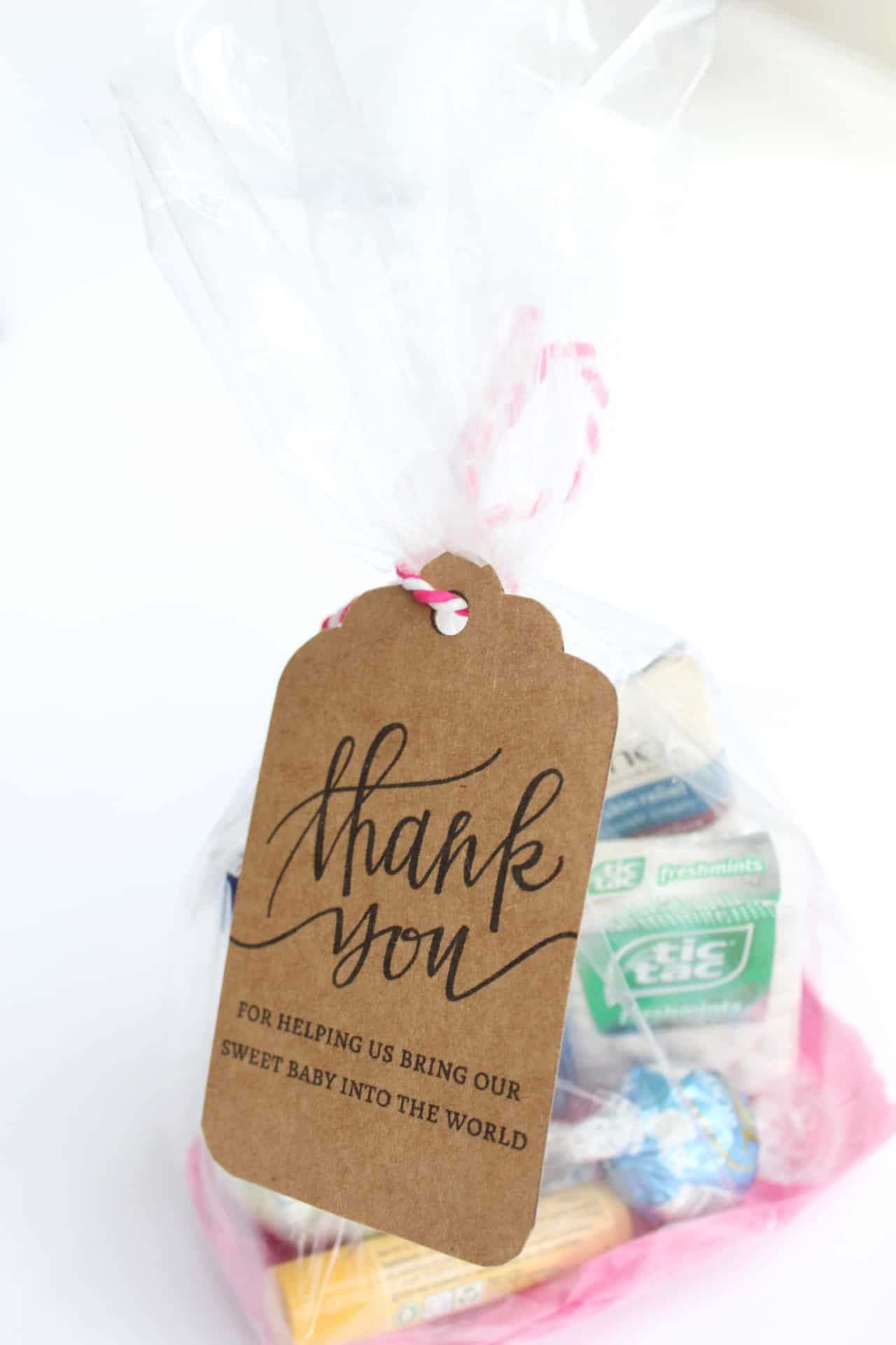 thank you gifts for labor and delivery nurses or midwives