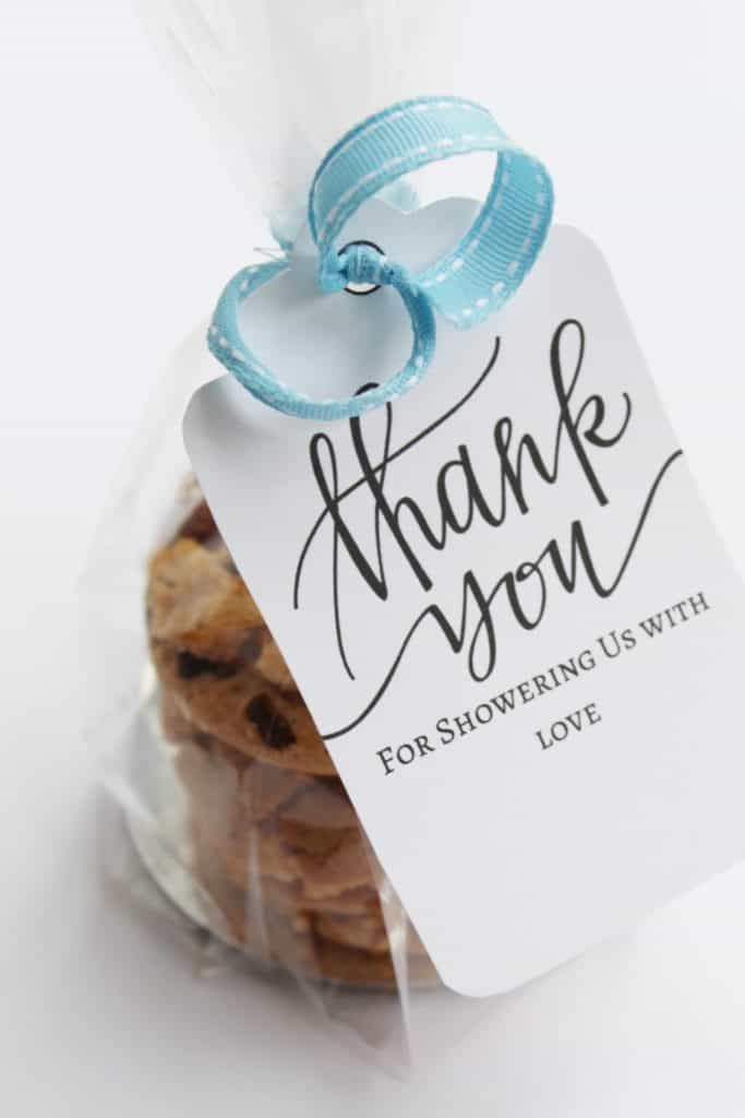 printable thank you tags for baby shower
