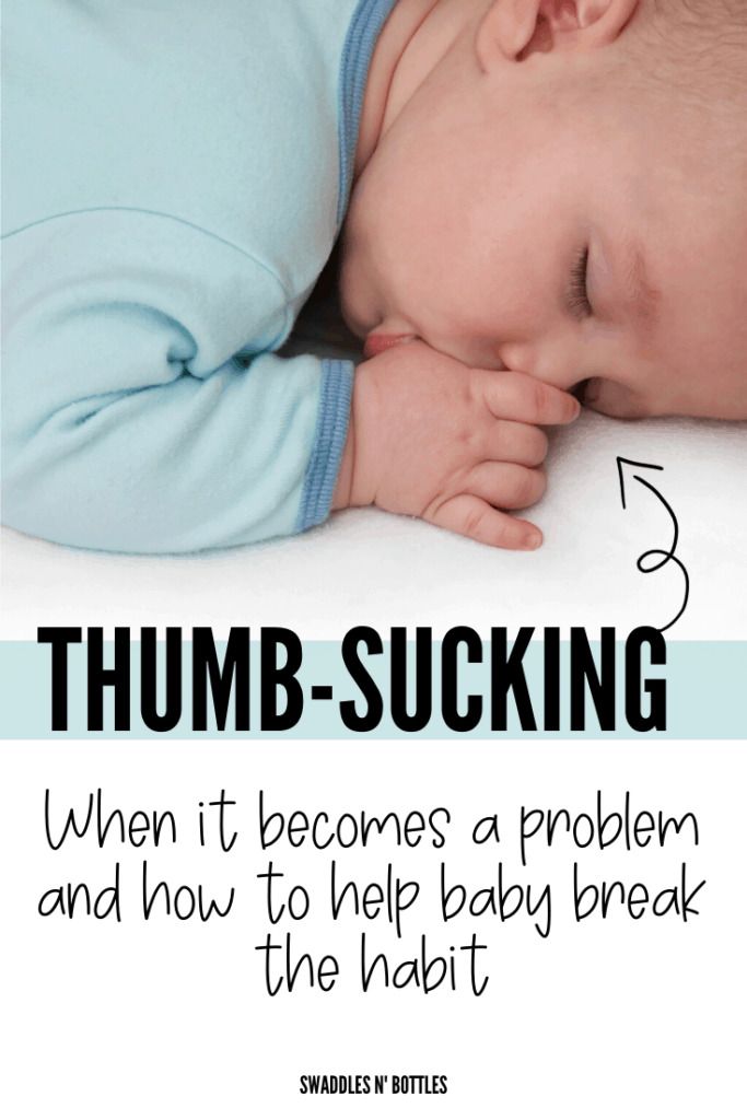 When Your Baby Should Stop Thumbsucking & What You Can Do About It
